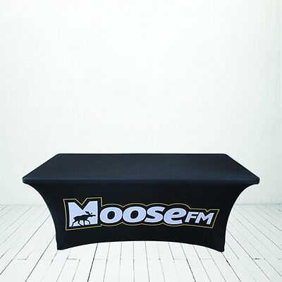 Custom Stretch Table Cover 4 x 2.5'