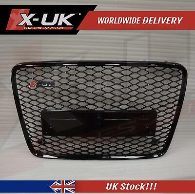 Front Grill Conversion Gloss Black For Audi Q7 To Rsq7