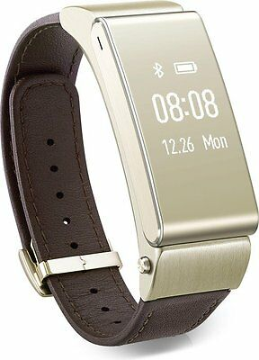 Huawei TalkBand B2 Smartwatch 1.9 cm Bluetooth Gold für iPhone Android Headset