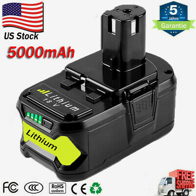 18VOLT P108 for RYOBI 18V ONE PLUS P104 P107 Lithium High Capacity Battery 4.0Ah