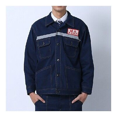 Work Uniform Clothes Jeans Overall Welding Security Workwear