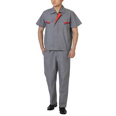 Long Sleeve Work Uniform Clothes Welding Vehicle Repair Overall Workwear