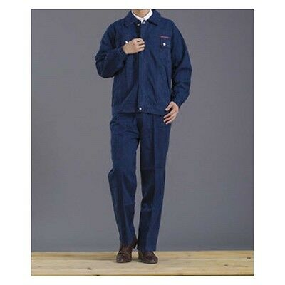 Thick Jeans Welding Vehicle Repair Work Uniform Clothes Overalls Workwear