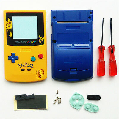 Pokemen And Picachu Limited Edition Shell Case For Nintendo Game boy Color GBC