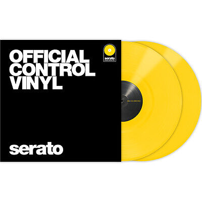 Serato Performance Series Control Vinyl Yellow Pair DVS 12""