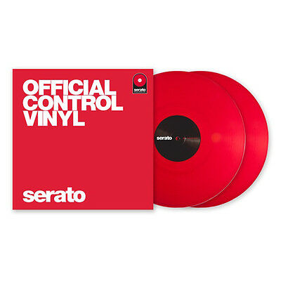 Serato Performance Series Control Vinyl Red Pair DVS 12""