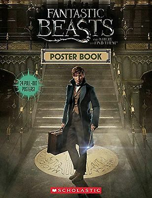 Fantastic Beasts Poster Book 12 Double-Sided and Where to Find Them Pullout NEW