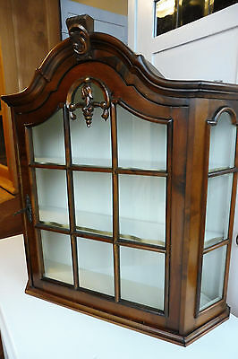 Dutch Wall Cabinet Cupboard Hanging Cabinet Dutch Wall Cabinet Nutwood Vintage