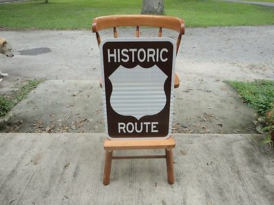 Custom US Historic Route Road Sign Great for Man Cave Bar Restaurant Rt 66 etc