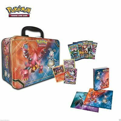 Pokemon TCG Collector Treasure Chest Tin 2016 Magearna & Volcanion Factory seal