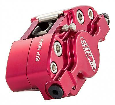 Vespa Anodised RED SIP Performance Front Brake Caliper - PX 125 150 200 Disc