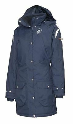 Mountain Horse Ladies Padded Waterproof Equestrian Reflective Adventure Parka