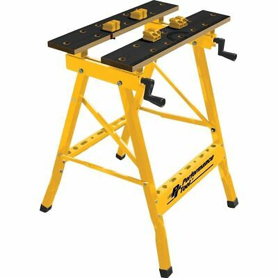 Performance Tool W54025 Portable Multipurpose Workbench and Vise 200 lb Capacity