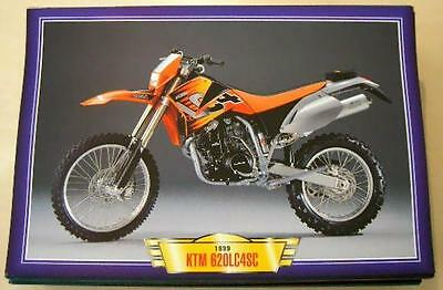 Ktm Lc4 620Sc 620 Sc Modern Classic Motorcycle Bike 1990's Picture Print 1999