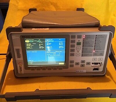 HP Agilent OmniBer Communications Performance Analyzer 37717C w/Options