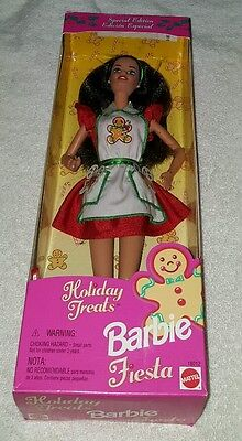Brand New Special Edition 1997 Holiday Treats Fiesta Barbie Mattel 18012