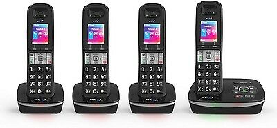 Bt 8500 Quad Digital Cordless Telephone & Answer Machine & Advanced Call Blocker