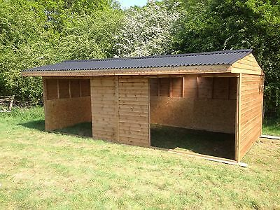 Mobile Field Shelter Stables Made To Order Free Delivery Within 50miles