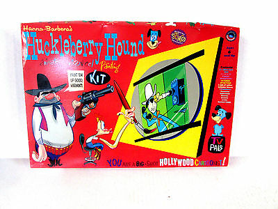 Huckleberry Hound Animated Cartoon Cel Painting Kit , PAINT IS DRY- NEW