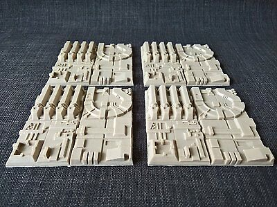 Death wars star trench diorama tiles resin scale model kit