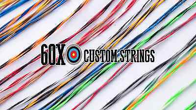 Reflex Excursion Bow String & Cable Set Choice of Color by 60X Custom Strings
