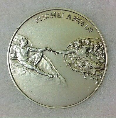 Vatican Museum 1992 First Issue Commemorative Art Medal Sterling Silver