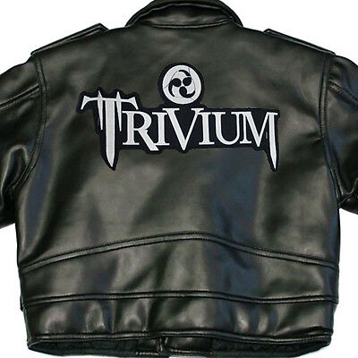 Trivum X-Large Back Sew On Patch Logo New Rare