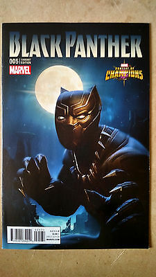 Black Panther #5 1St Print Contest Of Champions Game Variant Marvel (2016)