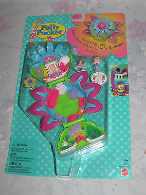 Vtg Bluebird Polly Pocket Totally Flowers Boutique Compact - New Sealed - 1997
