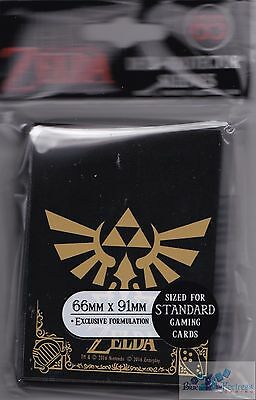 Zelda Black And Gold Tcg Ultra Pro Deck Protector Card Sleeves For Mtg Pokemon