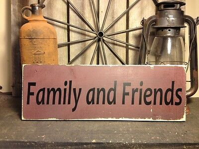 Country Primitive Handmade Wooden Sign Farmhouse  Decor