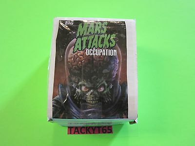 2015 Mars Attacks Occupation 81 Card Base Set