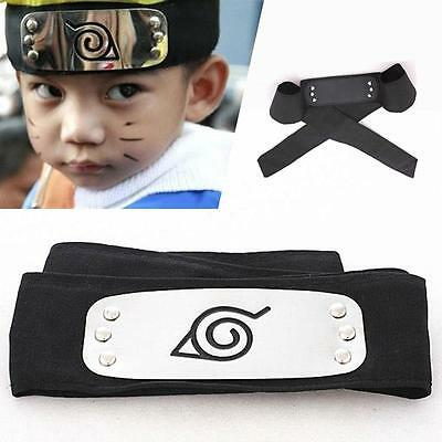 Hot Anime Leaf Village Ninja Headband Kakashi Headgear Cosplay Costume DH