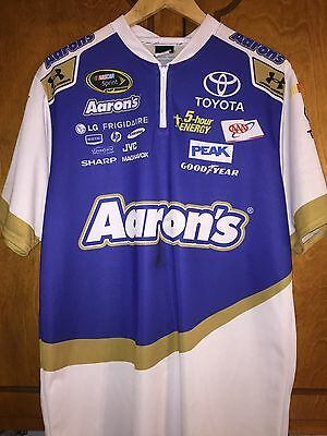 Large Under Armour Shirt Bowyer MWR Pit Crew Nascar Aaron's Sprint Cup Waltrip