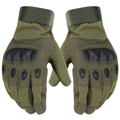 Sports Outdoors Tactical Military Gloves Airsoft Hunting Motorcycle Warm Gloves