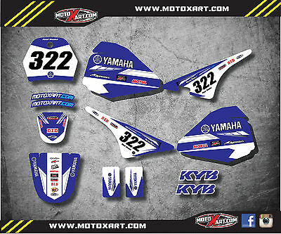 Yamaha pw pee wee 80 PREMIERE STYLE full custom graphics kit decals stickers