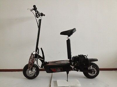 49cc PETROL GAS SCOOTER POWERFUL ADULT SIZE FOLDING SUSPENSION ELECTRIC | Cob &