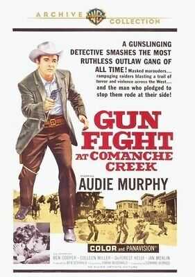 Gunfight at Comanche Creek (2010, DVD NEW) WS/DVD-R