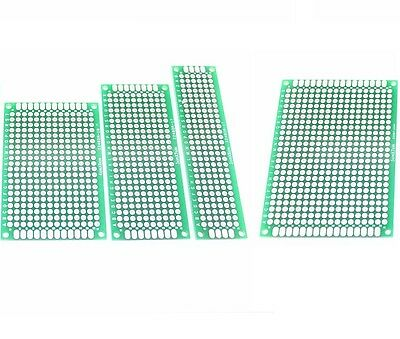 1/5/10PCS Double Side Prototype PCB Bread board Tinned Universal 2x8cm - 9x15cm
