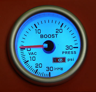 52mm Turbo Boost gauge 30 Psi Subaru Impreza WRX STi RA GT Legacy Forester