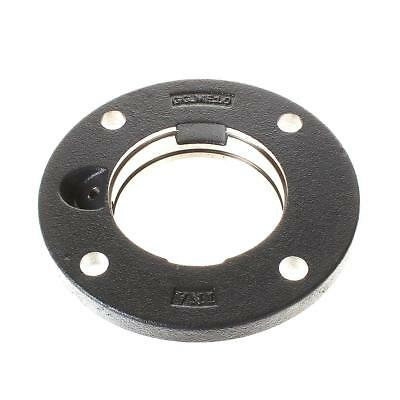 GG.ME10-N INA Four bolt round flange housing with centring spiggot canst iron, w