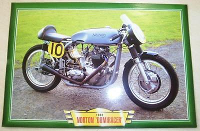 Norton Domiracer Domi Racer Classic Motorcycle Race Bike 1980's Picture 1982