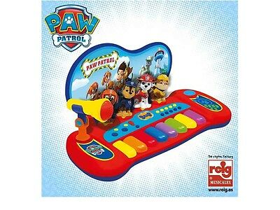 Paw Patrol 2514 Paw Patrol Baby Piano with Microphone. Free Shipping