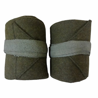 WW1 British/Canadian Army Khaki Putties (144 inches) - Reproduction