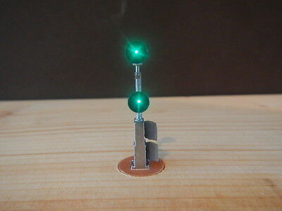 N Scale Light Capable Cabinet Mount Searchlight Signal Kit Century Foundry (516)