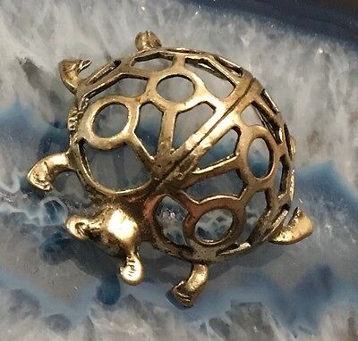 BEAUTIFUL Sterling Silver Miniature LADYBUG LADYBIRD Antique Decorative -L469