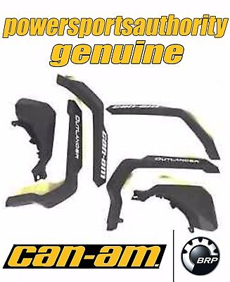 2012-2014 Can-Am Outlander & Max Oem Mud Guard Kit Fender Flares 715001764