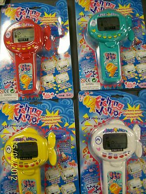 1 Radica Bass Fishin' Fishing Jr. Electronic Game NEW! 20 species of Fish!