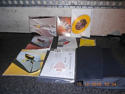Renault Scenic Mk2 Owners Hand Books From A 2005 Model