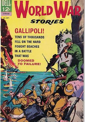 World War Stories Issue no 2 1965 Gallipoli! In VG condition!